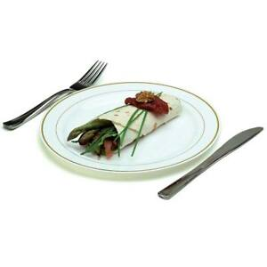 Image is loading Mozaik-Dinner-Set-40x-White-Gold-Rim-10-  sc 1 st  eBay & Mozaik Dinner Set - 40x White Gold Rim 10