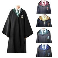 Harry Potter Gryffindor Adult Costume Robe Cloak Cosplay Fancy Dress New