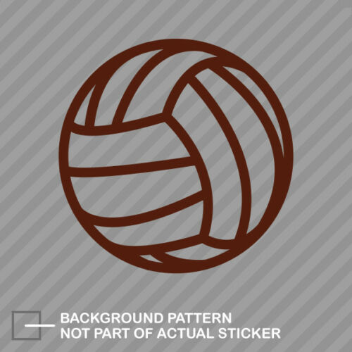 Volleyball Sticker Decal Vinyl