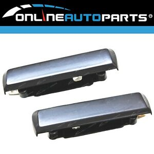 LH+RH Front Outer Door Handles Pair for Ford Falcon XG XH Ute & Panel Van 96-99