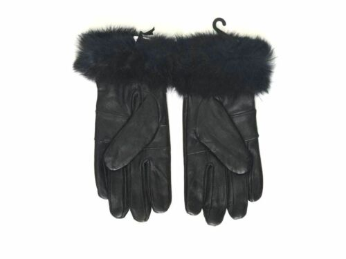 durable for all weathers Ladies women genuine Leather Touchscreen Gloves