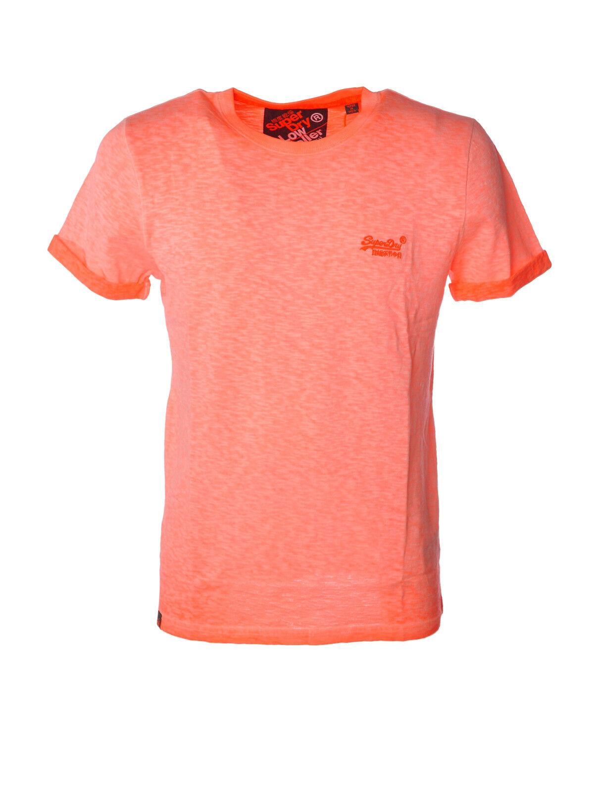 Superdry - Topwear-T-shirts - Man - Orange - 3486502H184123