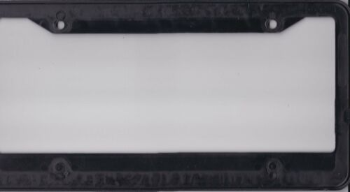 PIONEER ELECTRONICS RED RAISED LOGO LICENSE PLATE FRAME BLACK NEW MOUNTING HOLES
