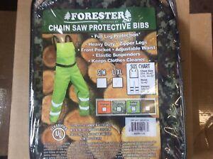Chainsaw Protective Safety Bibs Brown Meet OSHA Standards Bib Chaps