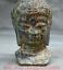 7-2-034-Bronze-Ware-Tibet-Bouddhisme-Shakyamuni-Amitabha-Bouddha-Tete-Buste-Statue miniature 3