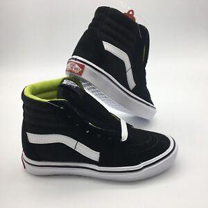hi Negro Niño básico Zapatos Sk8 Lite blanco Vans wYOPAqT