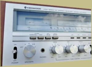 LED LAMP KIT MODEL KR-9050 STEREO RECEIVER (COLOR CHOICE) DIAL FUNCTION Kenwood