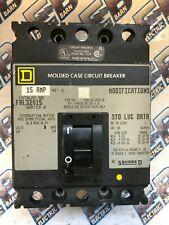 Square D 15a 15 Amp 3 Pole 240v Circuit Breaker FAL FAL32015