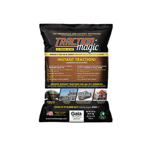 Traction Magic Quick Application All Natural Ice and Snow Melter, 45 Pound Bag