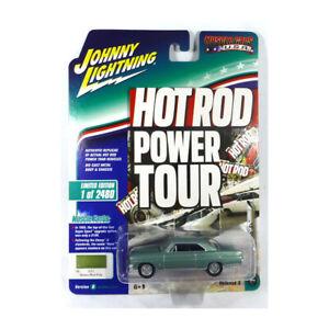 Johnny Lightning JLMC017-B1 Chevrolet Nova grün metallic Muscle Cars 1:64 NEU°