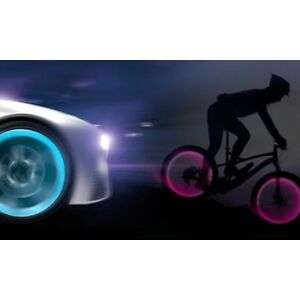 lot valve lumineuse led securite velo voiture moto tuning vendeur pro francais ebay. Black Bedroom Furniture Sets. Home Design Ideas