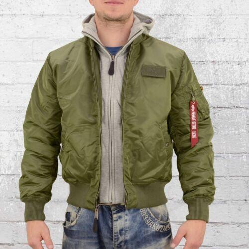 uomo bomber verde Uomo Giacca da bomber da oliva Giubbotto D Industries Tec Ma1 uomo Alpha SdzSqwR