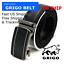 Men-s-Designer-Black-Leather-Dress-Belt-Sliding-Ratchet-Automatic-Click-Buckle thumbnail 1