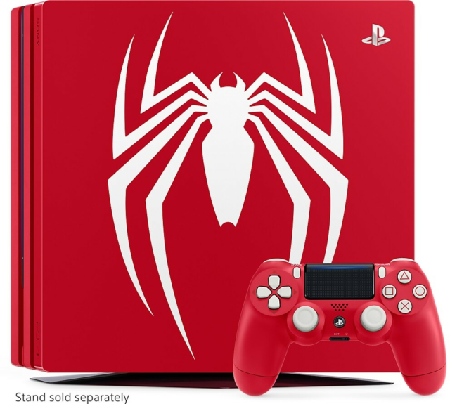 Playstation 4 Pro, 1 TB - Spiderman Limited…