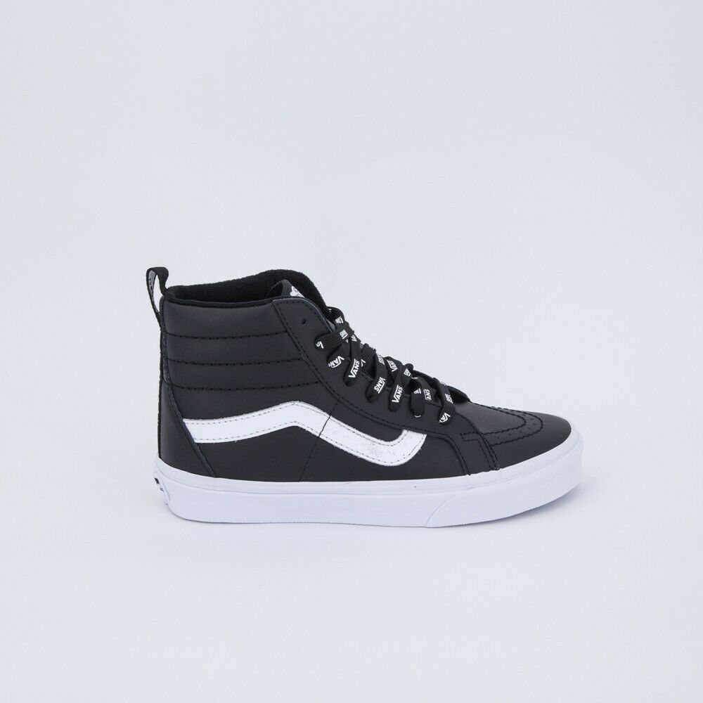 VANS SK8-HI PELLE NERA LIMITED LIMITED LIMITED EDITION n.43 100% ORIGINALI NUOVE 32cee2