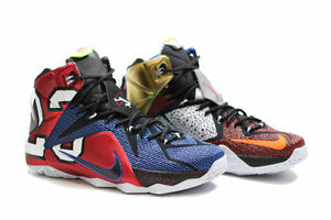 huge discount a87ed 57aa4 Details about NIKE LEBRON 12 XII SE (LEBRON JAMES) (WHAT THE..  EDITION)..MULTI-COLOR.. SIZE 14