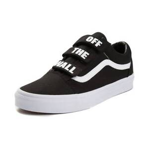 f3fcdde420 New Vans Old Skool V Off The Wall Skate Shoe Black White Mens Womens ...
