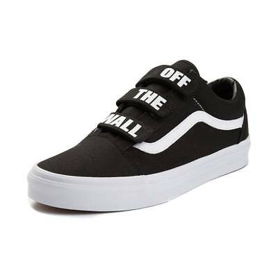 237229a40e2d0c New Vans Old Skool V Off The Wall Skate Shoe Black White Mens Womens ...