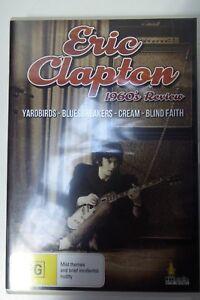 ERIC-CLAPTON-1960s-REVIEW-CREAM-YARDBIRDS-BLIND-FAITH-DVD-GOOD-CONDITION