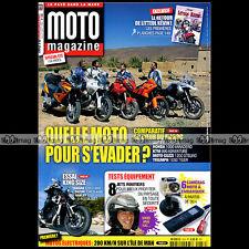 MOTO MAGAZINE N°259 HARLEY-DAVIDSON 1250 V-ROD MUSCLE SUZUKI 1340 B-KING 2009