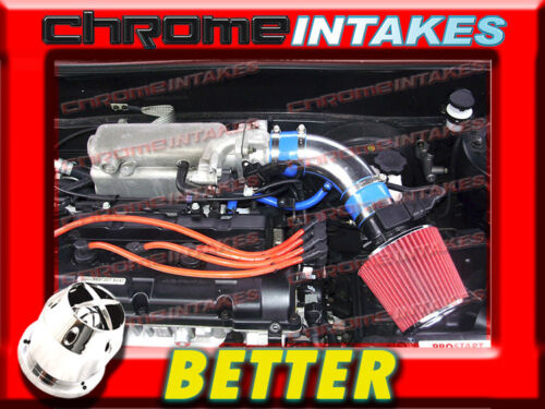 CF BLUE RED AIR INTAKE KIT FOR 03 04 05 06-08 HYUNDAI TIBURON GT//SE//GTP 2.7L V6