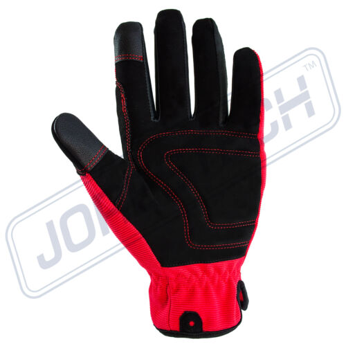 Firm Work Gloves Safety Size Large 3 Pairs Outdoor//Work//Garden Pad New