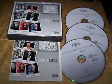 READERS DIGEST UNFORGETTABLE SINGERS & SONGS TOP TEN 10 HITS 3 CD BOX ELVIS LULU