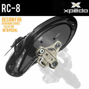 f0f6c4c16 Image is loading Bicycle-Cycling-Shoes-Adapter-Cleats-Shimano-SPD