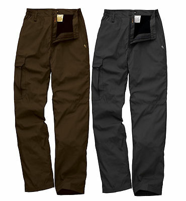 TROUSERS BY CRAGHOPPER FULLY THERMAL LINED BASE-CAMP WIND RESISTANT FREE POST