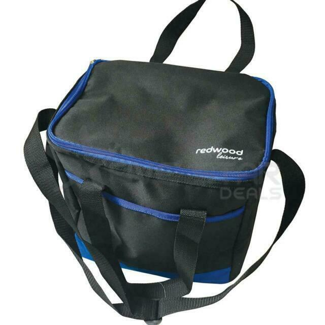 BB-CB333 Cool Bag 14L For 24 Can Capacity Separated Food /& Drink By Redwood