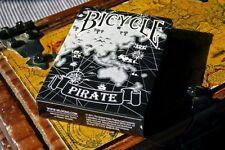 CARTE DA GIOCO BICYCLE PIRATE BLACK ,poker size limited edition