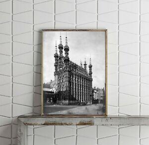 Photograph-of-Hotel-de-Ville-Louvain-Belgium