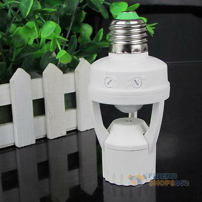 E27 60W PIR Induction Motion Sensor Infrared Body LED Lamp Bulb Light Switch