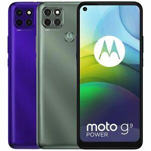 "Motorola Moto G9 Power XT2091-4 128GB 4GB RAM Dual Sim (FACTORY UNLOCKED) 6.8"""