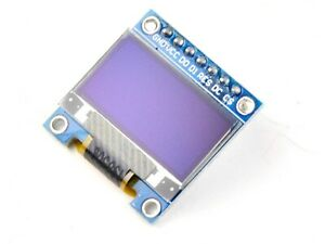 Blue SSD1306 128x64 Pixel OLED Display Module Fast AUS shipping