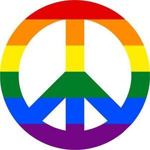 Pegatina Sticker Adhesivo Moto Coche Peace And Love Pace