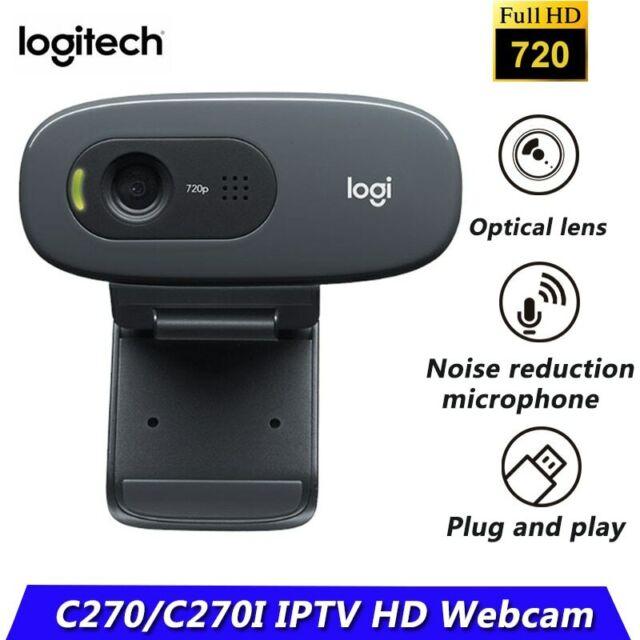 Webcam Logitech C270 USB 720P Webkamera Skype/Youtube taugl. f/PC Laptop Neu OVP