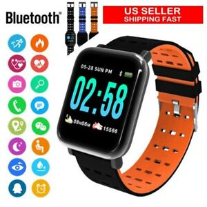 A6-Sports-Smart-Watch-Waterproof-Activity-Tracker-Fitness-Swimming-3-Colors-US