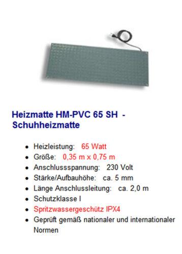 Heizmatte HM-PVC elektrische Fußbodenheizung PVC Heizmatte Fußwärmer