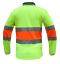 HI-VIS-Work-Polo-SHIRT-BIO-MOTION-DAY-NIGHT-NEW-BREATH-TAPE-SAFETY-LONG-SLEEVE thumbnail 6