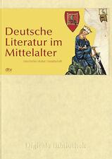 Deutsche Literatur im Mittelalter CD Digitale Bibliothek Nr. 88
