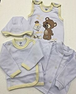 Baby & Toddler Clothing Sensible Erstausstattung Klinik Baby 4-set Gr.62 Strampler Mütze Jacke Aus Eu Vb Products Are Sold Without Limitations