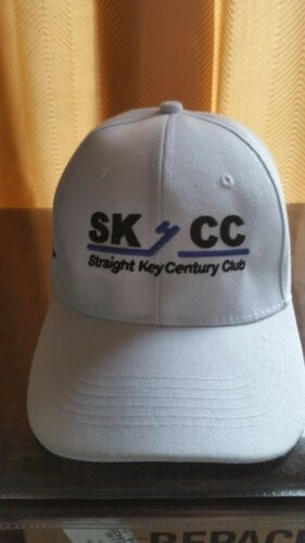 SKCC Straight Key Century Club Embroidered Hat with Callsign on the SIde