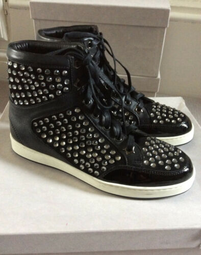 Tokyo Black Crystal Studded 35 Sneakers Choo Sz Jimmy 4O5qwRz5