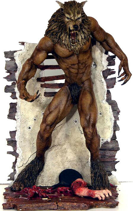 DOG SOLDIERS WEREWOLF PVC figure 18cm 18cm 18cm by Sota d64e2c