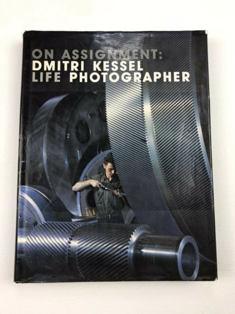 On Assignment Dmitri Kessel Life Photographer Book 1985 Photography Vintage