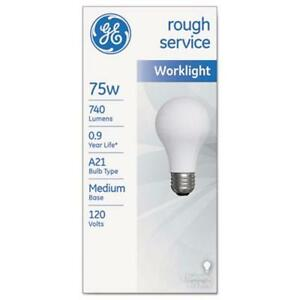 Image is loading Sli-Lighting -18274-Rough-Service-Incandescent-Worklight-Bulb-  sc 1 st  eBay & Sli Lighting 18274 Rough Service Incandescent Worklight Bulb A21 ...