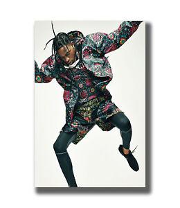 B-543 Travis Scott Complex Rap Hip Hop Music Star 18 24x36 27x40 Fabric Poster