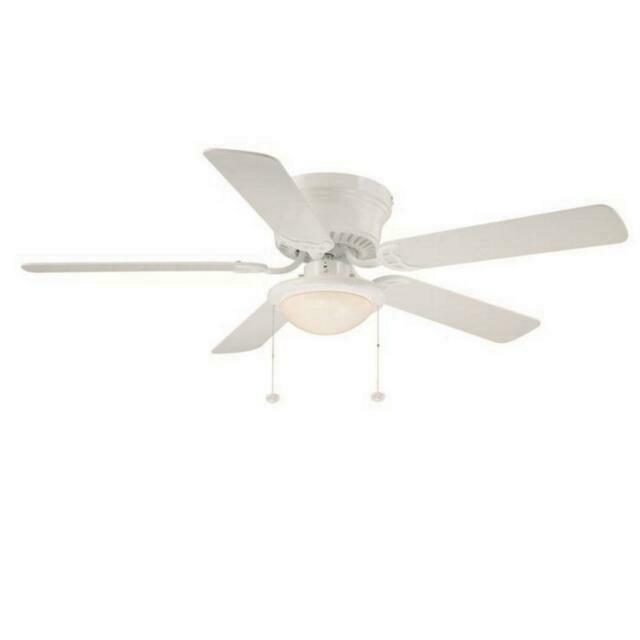 Al383led Wh 52 In Led Ceiling Fan