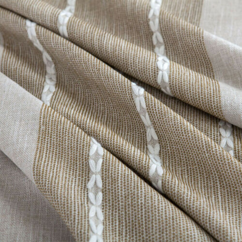 Waterproof Rectangle Linen Tablecloth Tasseled Edges Table Cover Nordic Style